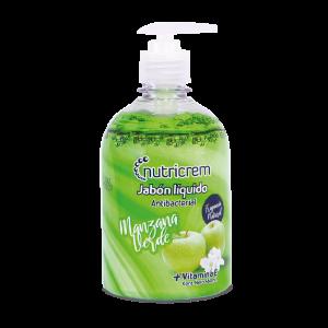 Nutricrem Jabón líquido Manzana verde